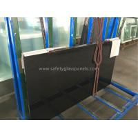 3 - 5 MM Toughened Frameless Tempered Glass Fence Panels Resist Shock / Burglary Manufactures