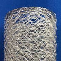 China Polyster Hexagonal Chicken Wire Netting for River / Gabion Wire Mesh wholesale