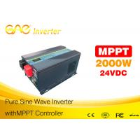 Buy cheap Hot sales 2000Wpure sine wave 24V inverter solar pannel inverter from wholesalers