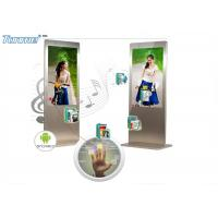 China Super Slim 42 Inch Interactive Touch Screen Display Capactive Panel 450cd / m2 Brightness wholesale
