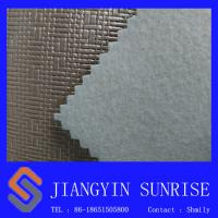 Inodorous Decorative Leather Semi Metal Colour Pvc Leather Looking Fabric Manufactures
