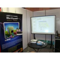 Portable Electronic Interactive Whiteboard Touch Screen , Wireless Manufactures