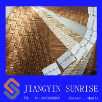 Odorless PVC Decoration Metallic Leather Fabric Thickness 0.9mm Manufactures