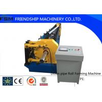 High Quatily 80mm/100mm Round Down Pipe Roll Forming Machine With Hydraulic Cutting Manufactures