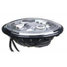 Green Angel Eyes LED Motorcycle Headlight Replace PAR56 Motorbike Head Lamp