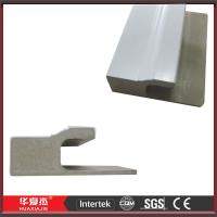 White WPC Door Mouldings Exterior Door Trim 5.412m WPC J - Channel For Door Manufactures