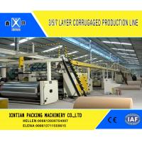 Buy cheap Corrugated Cardboard Carton Making Machine With A B C D E Flute 3 5 7 Layer from wholesalers