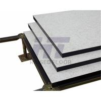 China Accurate Flexible Raised Access Floor HPL With Black PVC Edge Trim on sale