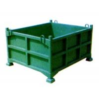 Buy cheap Green Large Capacity Cage Pallet Wire Mesh Container Easy To Use from wholesalers