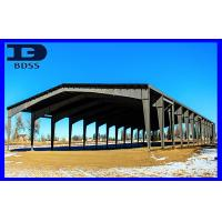Custom Long Span Steel Structures , Corrugated Sheet Steel Construction Building Manufactures