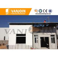 China Sandwich Panel Modern Prefab Houses / Comfortable Prefabricated Houses on sale