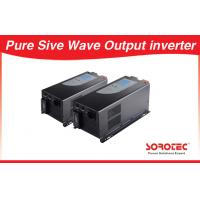 China Sine wave Output Solar Power Inverters visual alarm with Circuit breaker wholesale