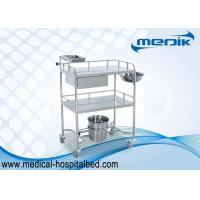 China Fully Stainless Steel Structure Treatment Trolley Loading Capacity 200 LBS on sale