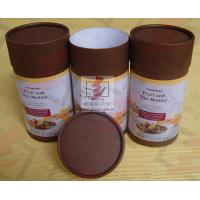 Coated Paper Food Packaging Tubes Containers Cardboard Roll Packaging Manufactures