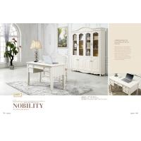 luxury modern white wood home office desk furniture Manufactures
