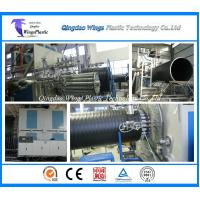 Quality HDPE Large Diameter Plastic Winding Sewage Pipe Making Machine for sale
