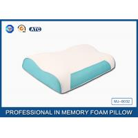 China Shoulder Care Memory Foam Contour Pillow, Moulded PU Visco Elastic Pillow wholesale