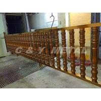 China 304 stainless steel railing,polished finish surface, rose-gold colors and anti-fingerprint wholesale