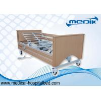 China Electric Operation Wooden Profiling Care Bed For Retirement Home on sale