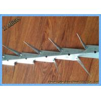 China Hot dipped galvanized and PVC coated black medium wall spikes wholesale