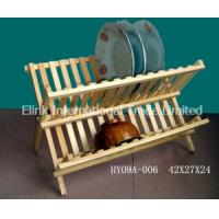 China Bamboo & Wooden Dish Rack for Kitchen Implement Manufactures
