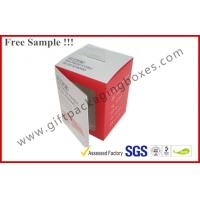 Customized Card Paper Electronics Packaging , 350gsm Display Box With Hanger And Window Manufactures