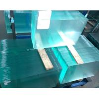 Curve  10MM  Durable Csi Custom Tempered Safety Glass Low Visible Distortion Manufactures
