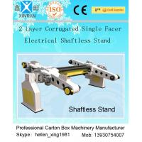 Single Facer Automatic Cutting Paper Carton Making Machine With Manual Brake Disc Manufactures