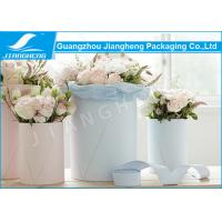 Pantone Printing Handmade Cardboard Gift Boxes Paper Cylinder Flower Gift Hat Boxes Manufactures