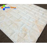 3D PE Foam bricks Decor Natural Eco many bright colour available widely used in living room,wall, KTV etc Manufactures