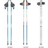 China Aluminum nordic telescopic walking sticks Trekking Stick Pole wholesale