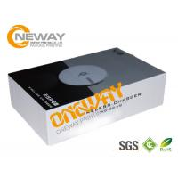 Recycle Paper Electronics Packaging Boxes / Long Size Corrugated Carton Box Manufactures