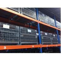 Buy cheap Durable Wire Mesh Container Powder Coating With Full Open Gate from wholesalers