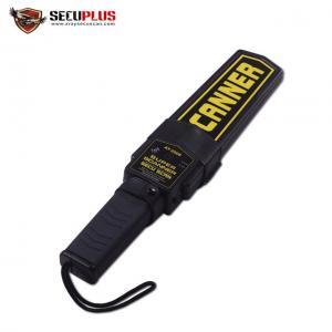 China Waterproof Portable Metal Detector Scanner / Small Metal Detector Wand wholesale
