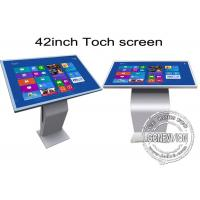 42 inch Multi Function All In One Touch Screen Kiosk Floor Stand Metal Case Manufactures