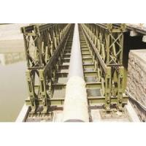 Custom Welding, Braking, Rolling Steel Structural Bailey Bridge, Pedestrian Bridges Manufactures
