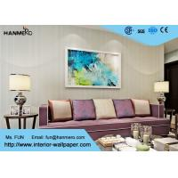 Simple Fashion Economical Grey Modern Striped Wallpaper For Hotel Room Manufactures