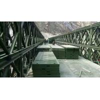 Assembling Type Temporary Emergency Bridge , Q345B Steel Temporary Road Bridge Manufactures