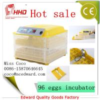 China Cheap Mini Poultry Full automatic poultry egg incubator setter hatcher transparent For Sale with CE Approved wholesale