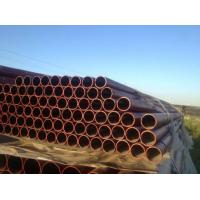 W Type EN 598 Ductile Black Iron Pipe C151 / A21 , Large Diameter Ductile Steel Pipe Manufactures