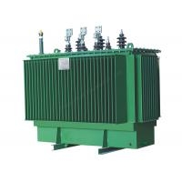 China Outdoor 11KV 2 MVA Oil Power Distribution Transformer With Copper / Aluminum Coil on sale