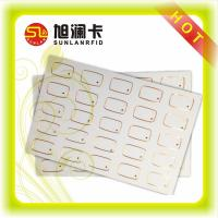 China 5*5 RFID Card inlay FM08 chip HF 13.56MHz plastic pvc Customized size ultrasonic wire wholesale
