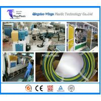 Buy cheap PVC High Pressure Fiber Braiding Hose Extruder Machine / Production Line from wholesalers