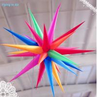 Customized Inflatable Haning Star with Led Light for Party and Events Decoration Manufactures