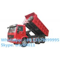factory sales 30ton 336hp dump truck, HOWO 336hp 5.2m length dump tipper truck for sale Manufactures