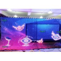 Ultra thin P12.5 Flexible LED Screen Board Soft Cabine big led display Rental Manufactures