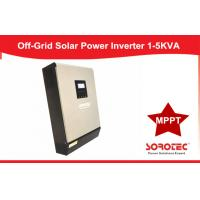 1KVA - 5KVA Pure Sine Wave Solar Power Inverters SSP3118C With LCD Setting Manufactures