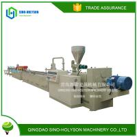 SINO-HS SJZ65/132 HIGH SPEED WPC WOOD PLASTIC PROFILE PRODUCTION  LINE Manufactures