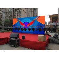 China Outdoor Stage Led Display HD Video Display signs P4.81 Ultra Thin & Eco friendly Outdoor Led Screens wholesale