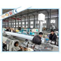 LDPE / PERT Pipe Extrusion Line , Plastic Pipe Manufacturing Machine Manufactures